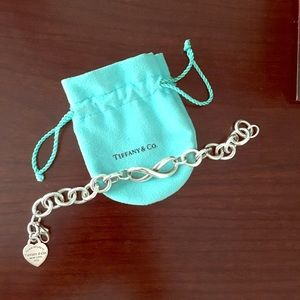 Tiffany & Co Infinity Chain Large Link Bracelet